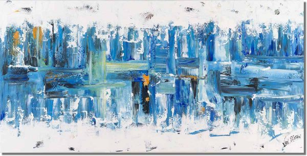 Abstract schilderij: Dynamite Ocean