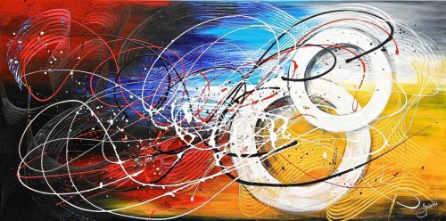 Abstract schilderij NewDay