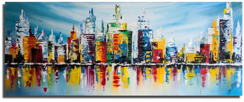 Skyline schilderij: Big Skyline