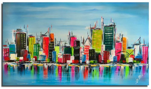 Skyline schilderij: Will be Nice