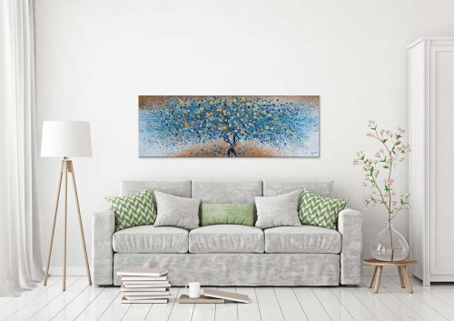Schilderij Goud: Magic Nature interieur